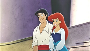 डिज़्नी Princess Screencaps - Prince Eric & Princess Ariel