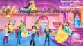 disney princesses royal ball with their princes - disney-princess photo