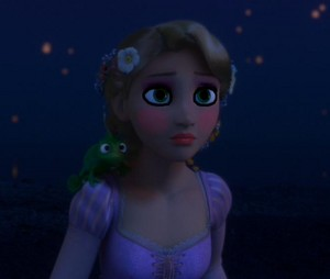 Rapunzel's moonlight look