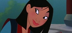 Mulan's Valentino look