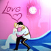 Cinderella and Charming Valentine - disney-princess icon
