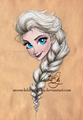 Elsa       - disney-princess fan art