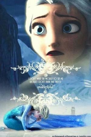 Elsa - 《冰雪奇缘》 <3
