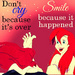 Ariel with Dr. Suess Quote
