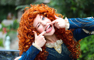 Merida Making Faces :)