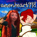 Merida and Ariel Icon for anonheart998 - disney-princess photo