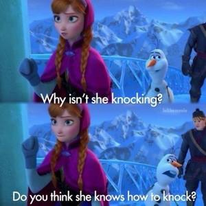 Anna, Kristoff, Olaf