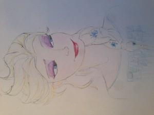 Elsa the snow Quuen