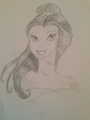 Princess Belle - disney-princess fan art
