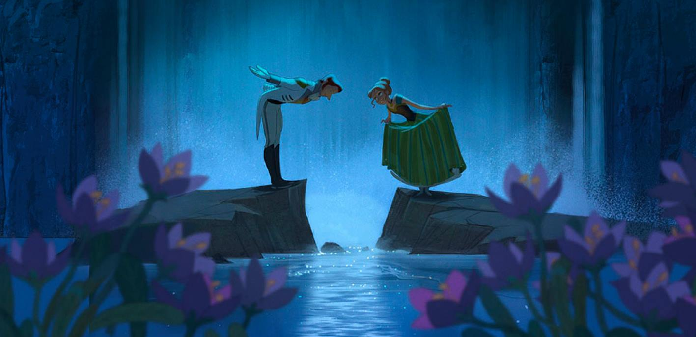 Anna and Hans~ Frozen Concept Art - Disney Princess Photo ...