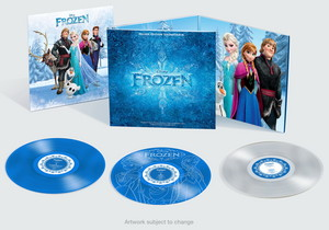 Disney Frozen Soundtrack Deluxe Edition on Vinyl (Limited Edition)