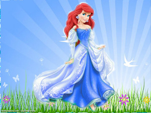 ডিজনি princess ariel new look
