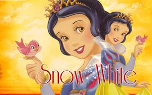 Princess Snow White - wallpaper