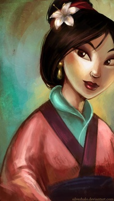 "1998 disney Cartoon, ""Mulan"""