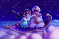 ALADDIN Grumpy Cat - disney fan art