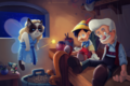 PINOCCHIO Grumpy Cat - disney fan art