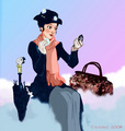 "1964 Disney Film, ""Mary Poppins"" - disney fan art"