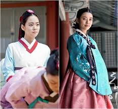 DongYi in Jang Okjung living in l'amour and DongYI