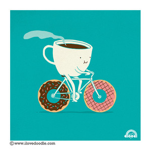 coffe and donuts----------♥
