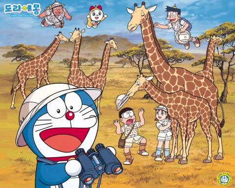 Doraemon Hintergrund with Anime titled yukianuadu