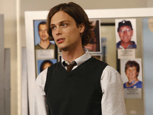 Dr. Spencer Reid Hintergrund entitled Dr. Spencer Reid