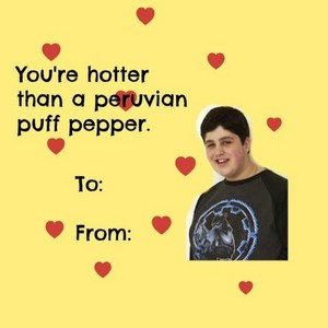 pato, drake and Josh Valentines día cards