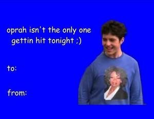 mannetjeseend, drake and Josh Valentines dag cards