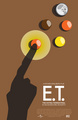 E.T. Reese's Pieces Poster - et-the-extra-terrestrial photo