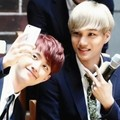 KaiSoo Selca - exo photo