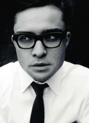 Ed Westwick glasses