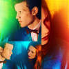 Eleventh and Amy Icons