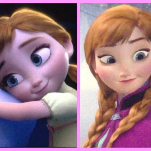 Little anna frozen