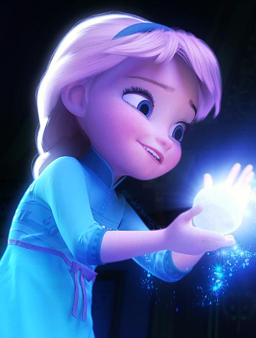 Little Elsa - Elsa and Anna Photo (36636209) - Fanpop