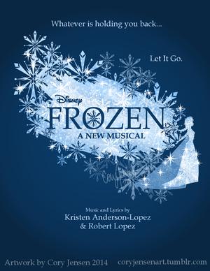 Frozen Musical Poster (Fan made)