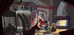 frozen Early Visual Development