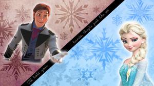 Elsa x Hans wallpaper