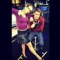 Emily Bett Rickards on Set - emily-bett-rickards photo