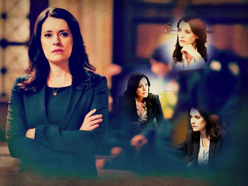 Emily Prentiss 壁纸 possibly containing a well dressed person called Emily Prentiss