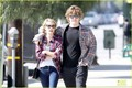 Emma Roberts Toasts 23rd Birthday with Evan Peters! - emma-roberts photo