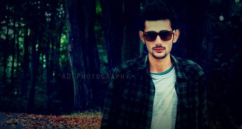 Emo Boys پیپر وال with sunglasses called Adil Dar