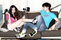 Krystal and Ahn Jae Hyun for 'Puma'   - f-x photo