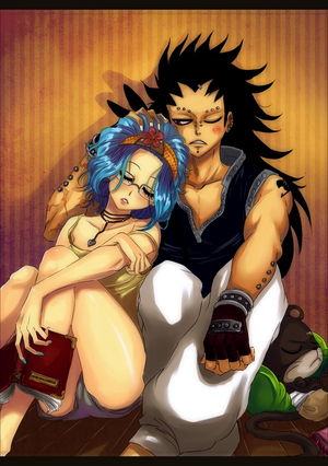 GaLe??(Gajeel x Levy)