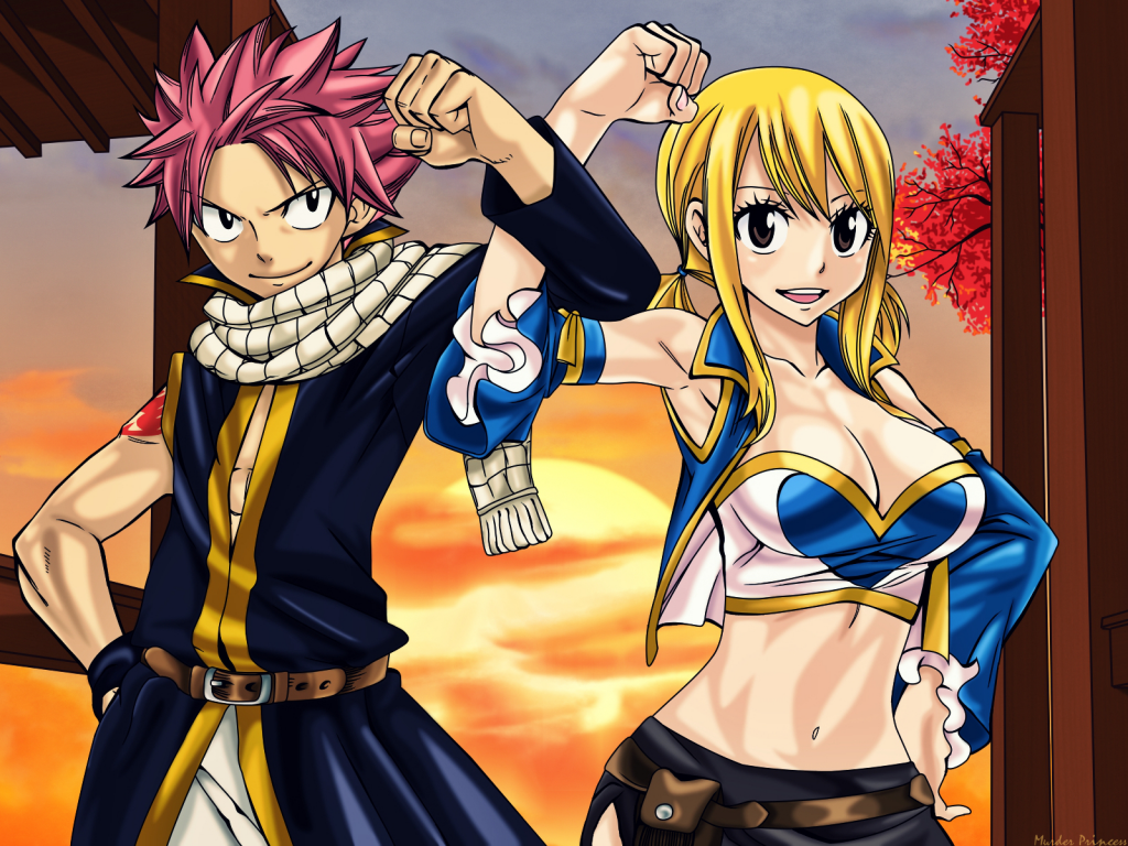 Fairy Tail Couples Images NaLuNatsu X Lucy HD Wallpaper And Background Photos