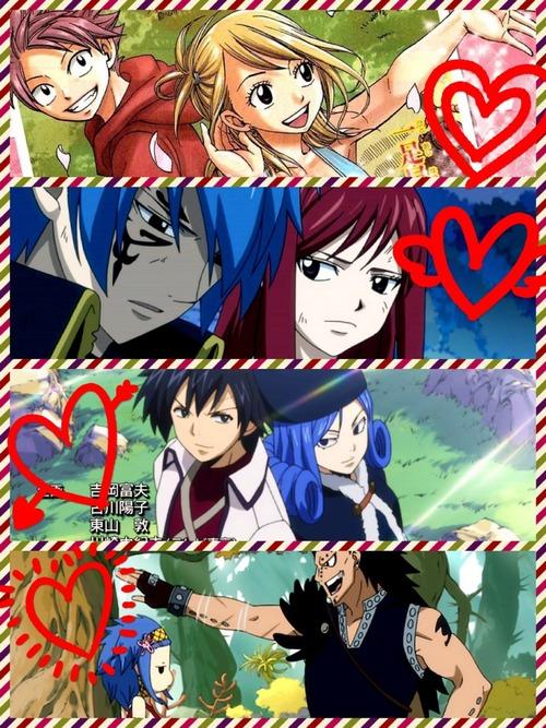 Fairy Tailღೋ(Couple)