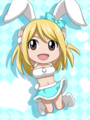 Bunny Lucy - fairy-tail fan art