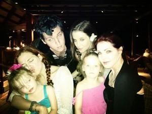 Lisa, Ben, Riley, Cilla and Finley