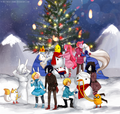 merry christmas - fiolee-fionna-and-marshal-lee photo