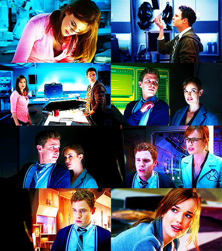 FitzSimmons wallpaper probably with a business suit called Fitzsimmons in every episode || Pilot