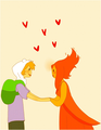 Can We Hold Hands Now? - flame-princess fan art