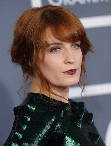 Florence + The Machine karatasi la kupamba ukuta with a portrait called 55th Annual Grammy Awards